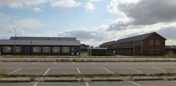 Asielzoekerscentrum Goes. foto Willem Staat