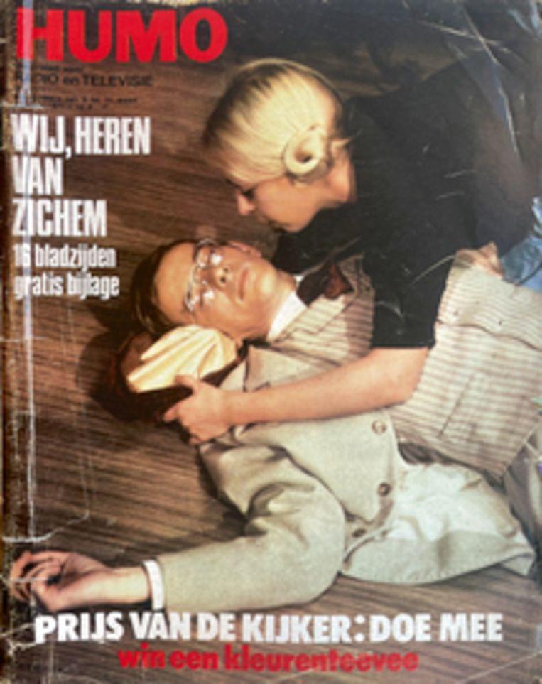 Humo cover maart 1971 Beeld HUMO