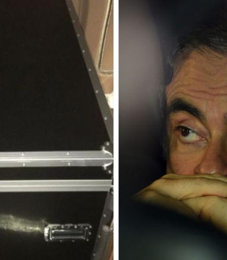 Voici le caisson dans lequel Carlos Ghosn se serait caché pour fuir