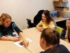 Ook veel leerlingen studenten aan de slag met Van Gogh