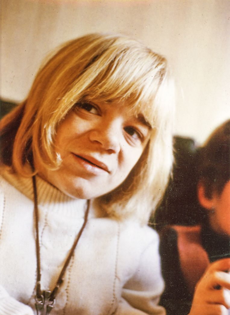 AnneMieke Bökkerink in haar jonge jaren. Beeld