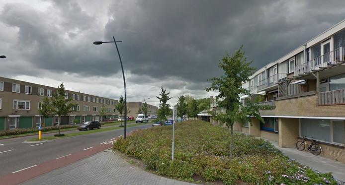De Kornetstraat in Uden telde kortgeleden ook enkele overbevolkte 'polenpanden'.