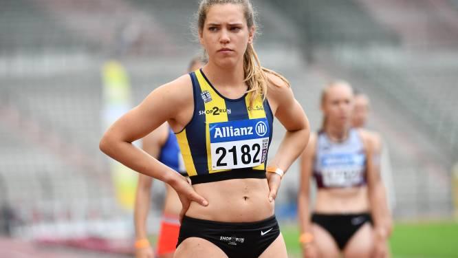 800m-specialiste Rani Baillievier ook snel op de 400m