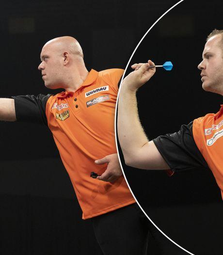 Gevoelig verlies voor Van Gerwen en Van Duijvenbode, Schotland wint World Cup of Darts