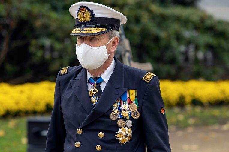 Admiraal Michel Hofman. Beeld Photo News
