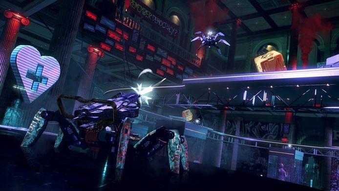 Dolle pret, zij het slechts voor even: spiderbot-arena's!