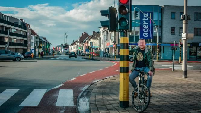 Vanaf voorjaar mogen fietsers rechtsaf door het rood op veertien kruispunten in Kortrijk