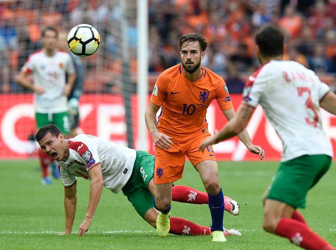Davy Pröpper scoorde in 2017 twee keer tegen Bulgarije.