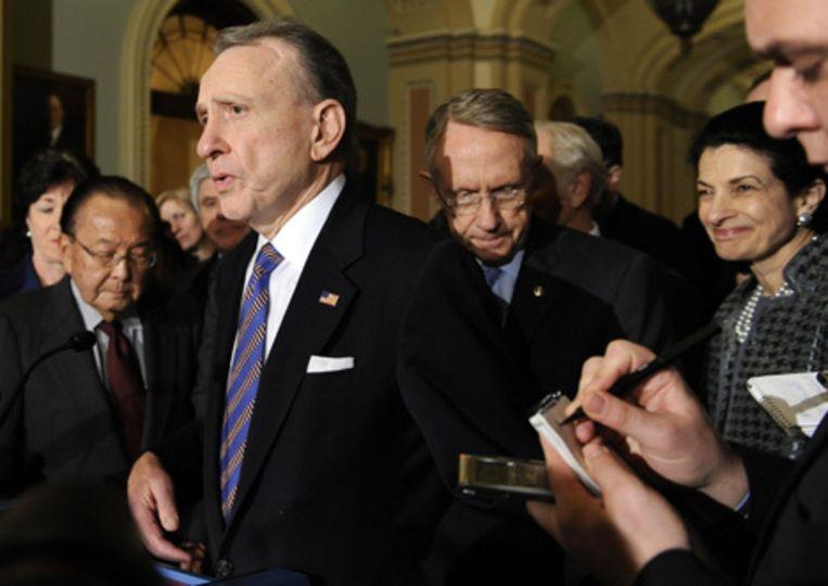 De onderhandelaars van het Huis van Afgevaardigen hebben overeenstemming bereikt over het economisch plan voor de Verenigde Staten. Foto AP/Susan Walsh Beeld