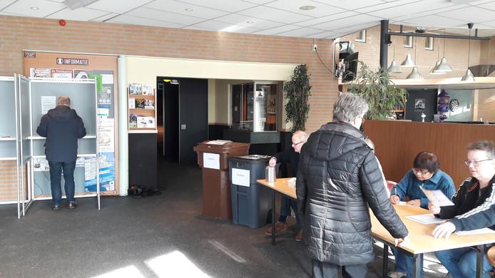 Stemmen bij De Wetering in Loon op Zand.