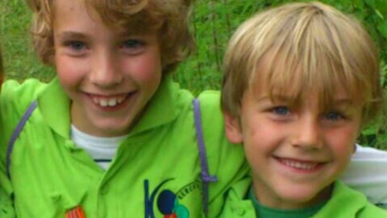 Kinderen waren in Vleuten, man erna in Noord-Limburg De broertjes Rubin en Julian op een dinsdagavond verspreide foto. Beeld Politie Utrecht