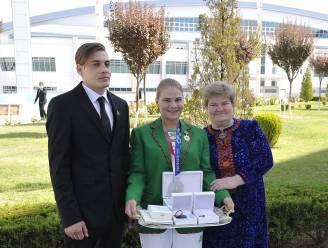 Turkmenistan beloont eerste olympische medaillewinnaar met appartement, cheque en luxewagen