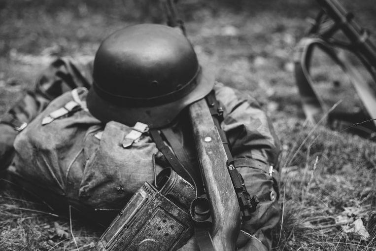 In het tweede deel, Sex und Linden, wordt een bijna 90-jarige Duitse man opgevoerd. Die heeft de oorlog niet als soldaat meegemaakt. Beeld Getty