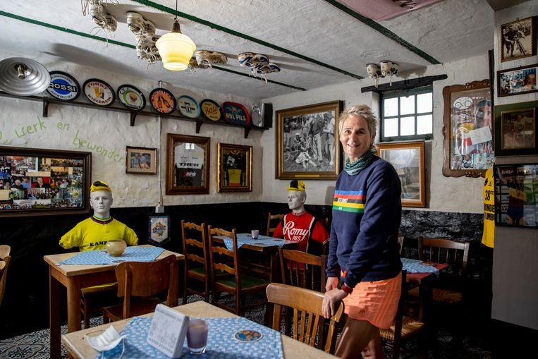 Annie Vermeulen (60). Beeld Jan De Meuleneir / Photo News