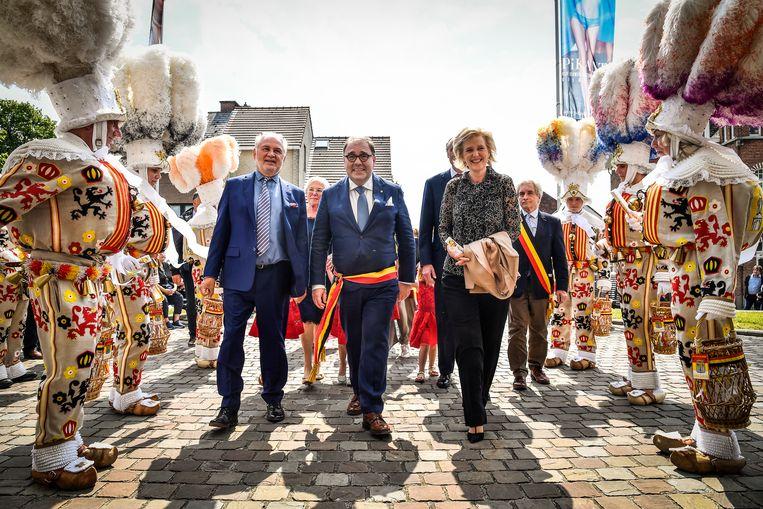 Prinses Astrid bezocht de opening van PIKANT! in Moorsel.