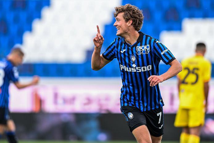 Sam Lammers maakte in 135 minuten, puur uit invalbeurten, al twee doelpunten voor Atalanta Bergamo.