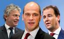 Wie van de drie? PvdA-leden hebben het voor het uitkiezen.