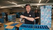 Subsidies voor pneumatische arm in verpakkingsafdeling van brouwerij Huyghe