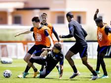 Berghuis laat zich zien bij training Oranje-reserves