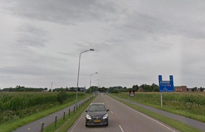 De Rivierweg in Westervoort.