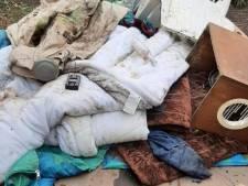 'Ontruimde slaapplek dakloze in Park Merwestein werd al niet meer gebruikt'