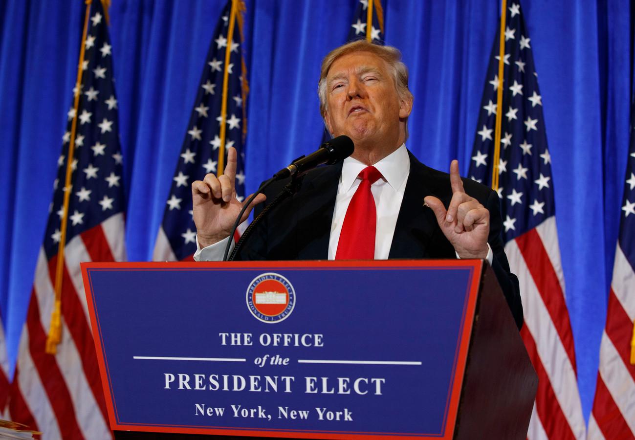 'Trump blijft belangenconflicten riskeren' | Foto | AD.nl