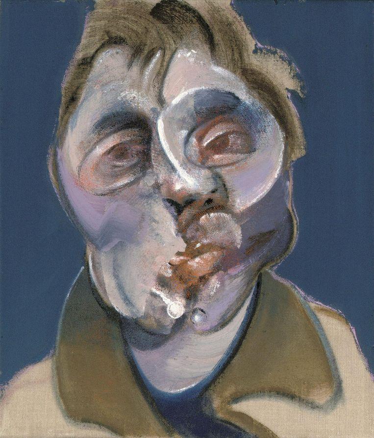 Francis Bacon, 'Zelfportret'. Beeld EPA