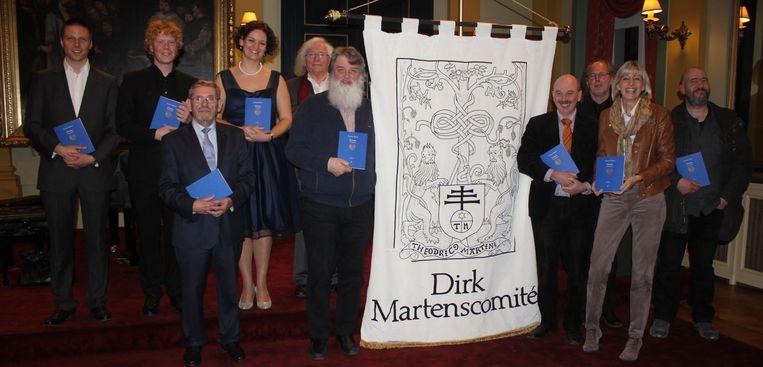 Het Dirk Martenscomité stelt de nieuwe druk van het boek Utopia voor.