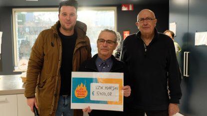 Lopende leerlingen brengen 5.404 euro op voor vzw