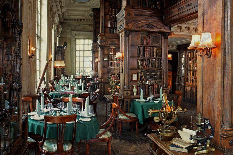 Café Pushkin. Beeld rv