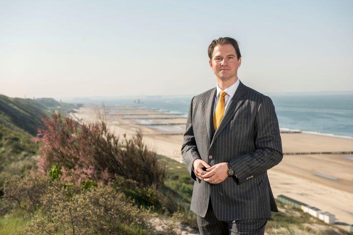 """Philipp Keller, lid van het dagelijks bestuur van waterschap Scheldestromen: ,,Zeeland is de frontlinie voor zeespiegelstijging en klimaatverandering."""""""