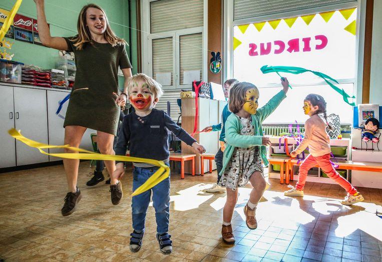 In de Kappaertschool in Zwevegem stond de jaarlijkse projectweek deze week in het teken van 'Circus'.