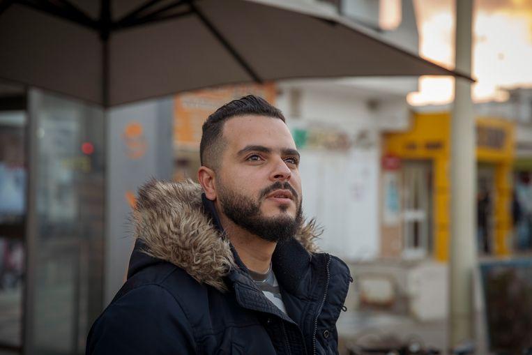 Hamada Ben Amor, artiestennaam: El General, rapper, muzikant, maker van het lied 'Rais Lebled' dat het strijdlied werd van de revolutie. Beeld Sven Torfinn