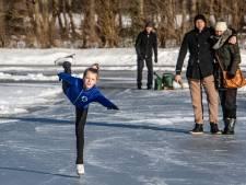 Dit 9-jarige meisje uit Heino kan pas écht schaatsen: 'Ik wil Olympisch kampioen worden'