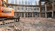 Cosmo Afbraakwerken legt sloop vroegere Abdijschool tijdelijk stil door coronavirus