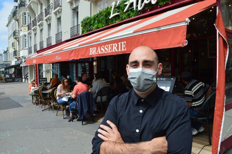 Scott Metenier, bedrijfsleider van restaurant L'Atelier. Beeld Kleis Jager