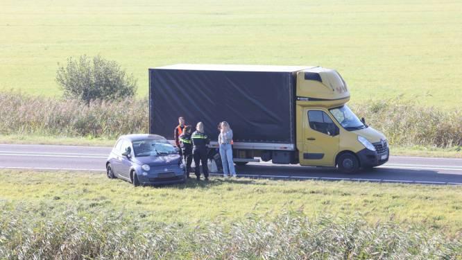 Lange file na ongeluk op beruchte N50 tussen Emmeloord en Zwolle opgelost