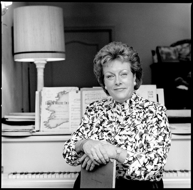 Operazangeres Caroline Kaart in 1986. Beeld Hans Heus