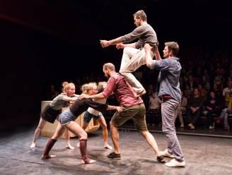 Circusartiesten van Common Ground deze week te gast in pop-uparena Inghelant tijdens 'De Donderdagen'