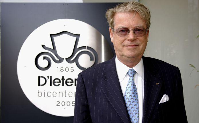 Roland D'Ieteren op een foto uit 2005.
