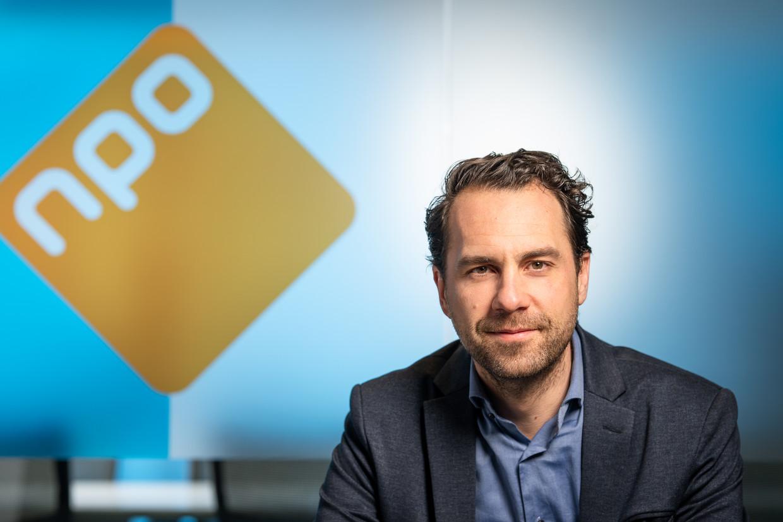 Martijn van Dam, binnen de raad van bestuur van de Nederlandse Publieke Omroep (NPO) verantwoordelijk voor technologie en innovatie. Beeld Michel Schnater