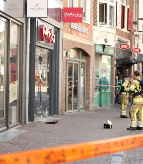 'Vreemde geur' bij kledingwinkel in Amersfoort, maar brandweer vindt geen gaslek