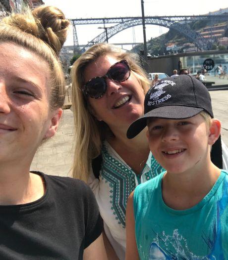 Daniëlle (50) reserveert jaarlijks 7500 euro voor de vakanties met haar twee kinderen