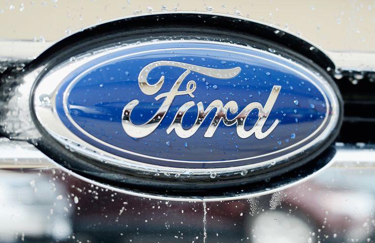 Het logo van Ford.