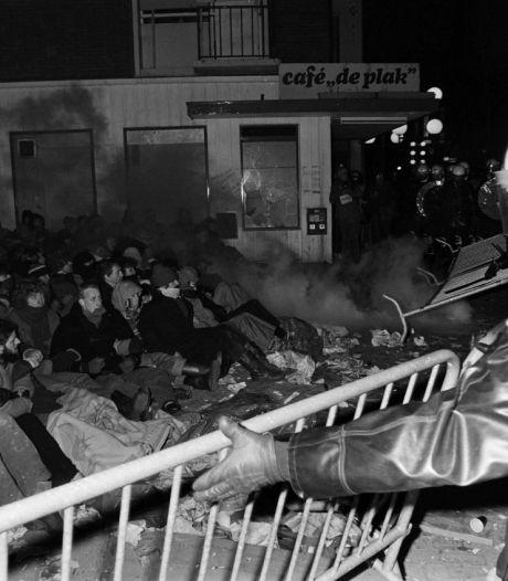 Politieman Hans van Meegen: 'Op de dag van de ontruiming 40 jaar geleden brak de hel los'