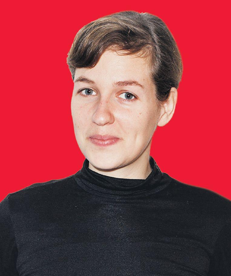 Sanne Zurné. De fotograaf werkt onder andere voor Het Parool en de VPRO. Beeld