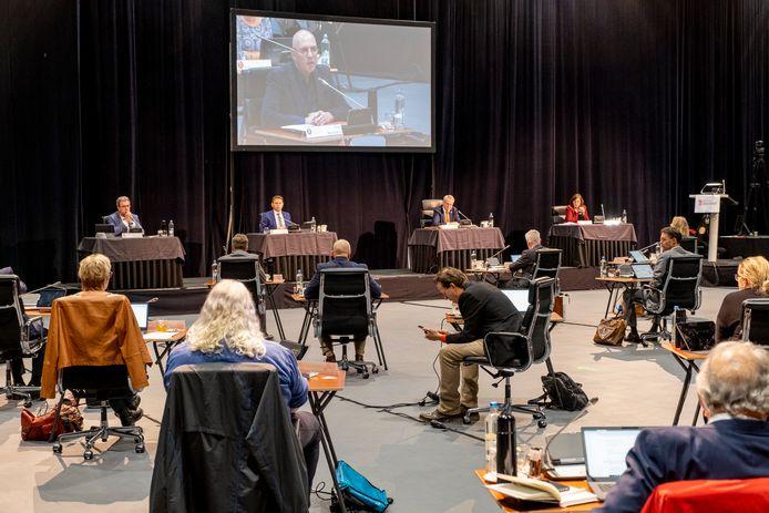 Vanwege de coronabeperkingen vergaderden Provinciale Staten vorig jaar tijdelijk in Studio A58 in Middelburg.