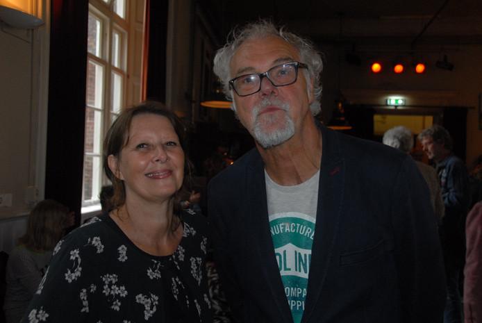 De organisatoren Wilma van Oeffel en Tiny van den Boomen