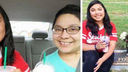 """Elk schooljaar namen ze samen een selfie, tot Savannahs moeder plots stierf: """"Ze is dood, maar onze traditie niet"""""""