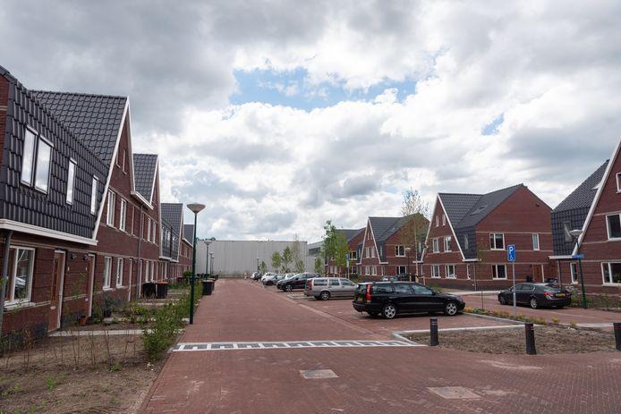 Woningbouw in Soesterberg-Noord, waar bedrijven moeten wijken voor woningen.